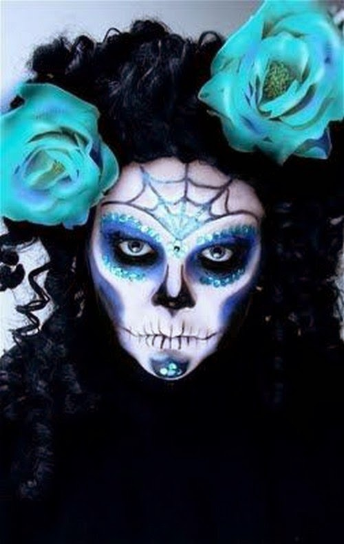 You Like It My...: How To Paint Sugar Skull Makeup for ...