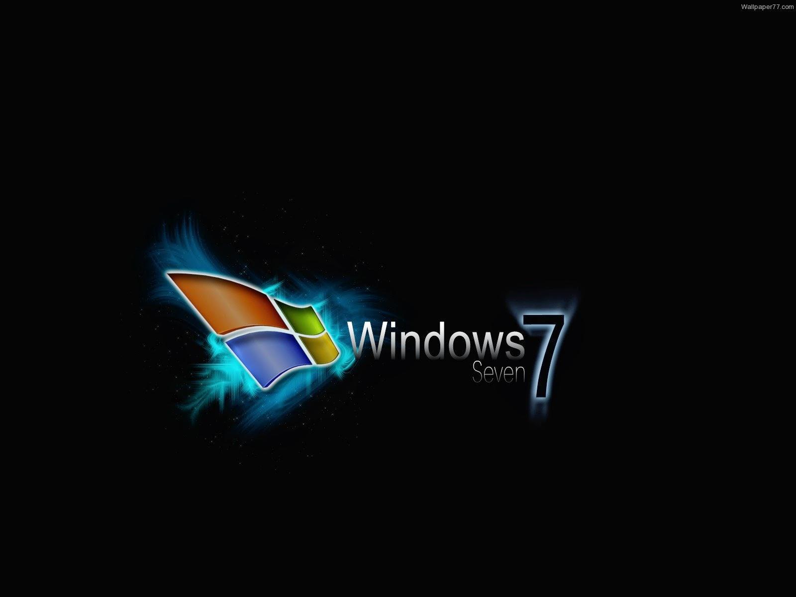 Windows 7 desktop cartoon