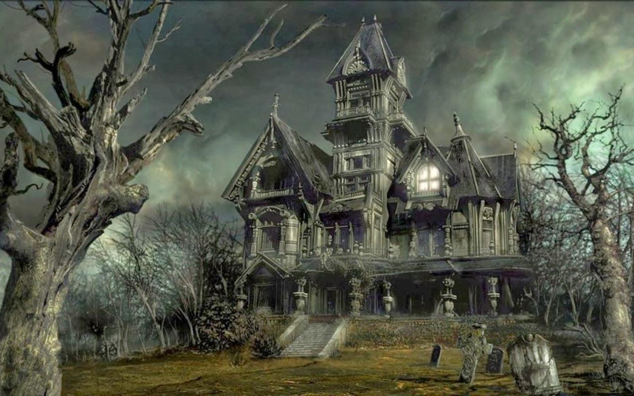 Risultati immagini per haunted house