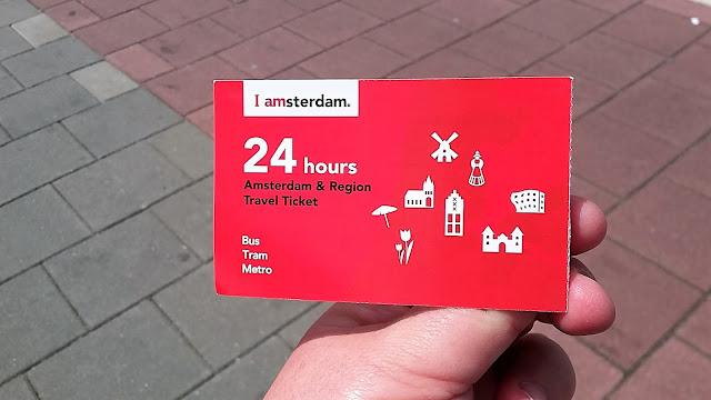 Biglietto mezzi pubblici amsterdam