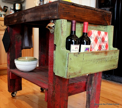 Pallet kitchen furniture diy projects pallet furniture for Pallet furniture blogspot com