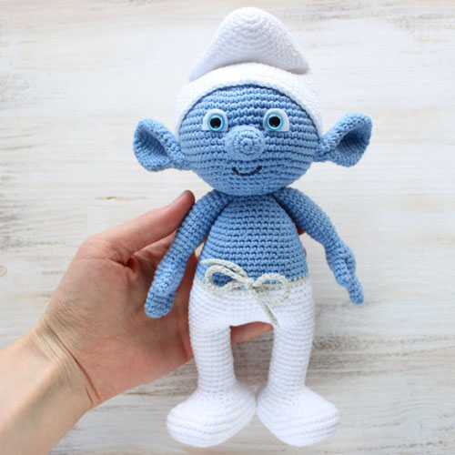 Beautiful Skills - Crochet Knitting Quilting : Crochet Smurf ...