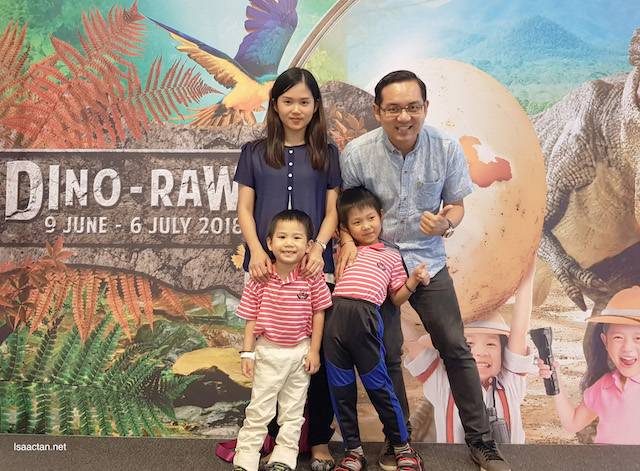 Dino-Rawr Fun With The Family @ The Mines Shopping Mall