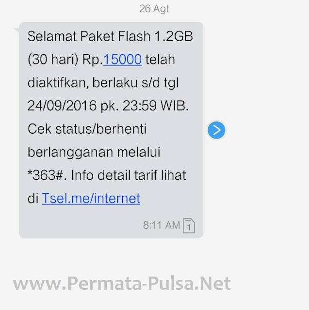 Cara Mudah Daftar Paket Internet Telkomsel 15rb Dapat 1,2 GB Per 30 Hari