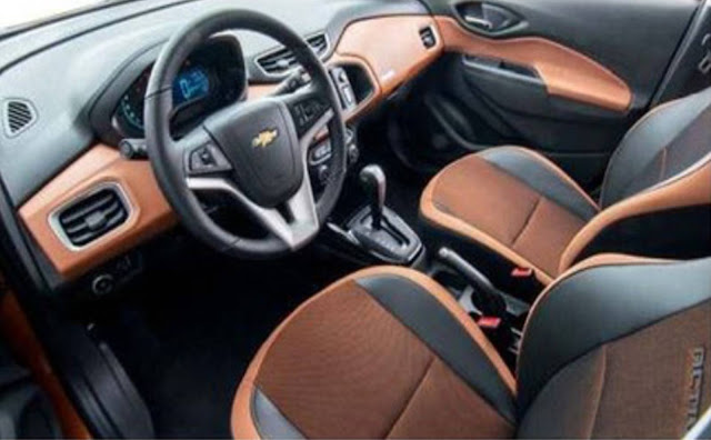 Novo Chevrolet Onix 2017 - Active - interior