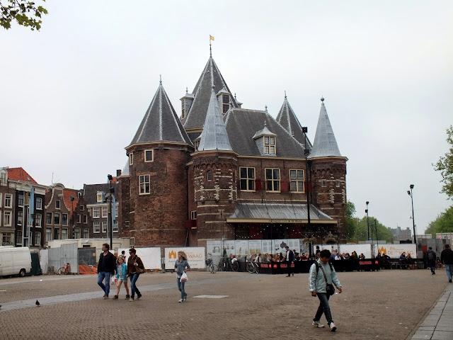 Castillo Waag en Amsterdam