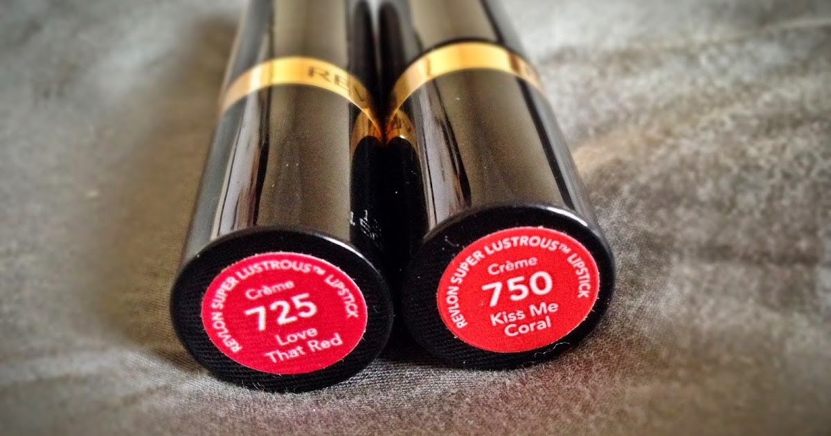 Review Revlon Super Rous Lipstick In Love That Red And Kiss Me C Reflection Of Sanity