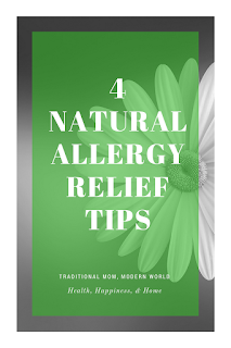 #naturalremedy #allergies #healthyliving