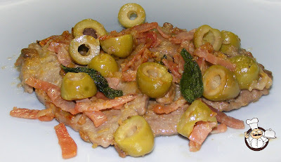 Scaloppine allo speck.