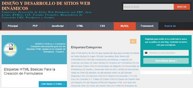 Desarrollo de Sitios Web Dinámicos