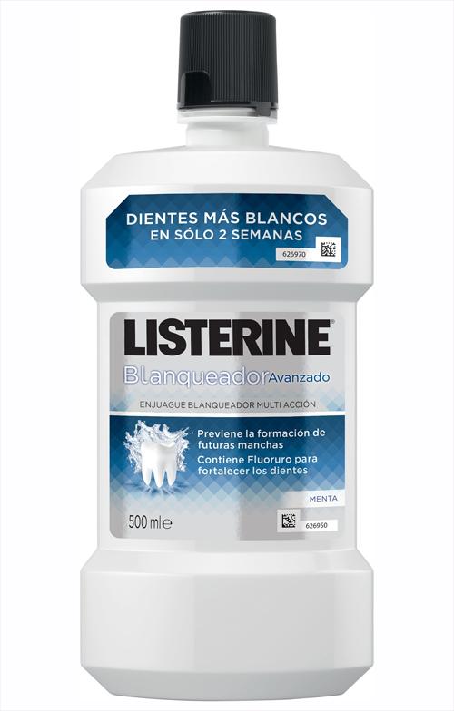 Blanqueador avanzado Listerine