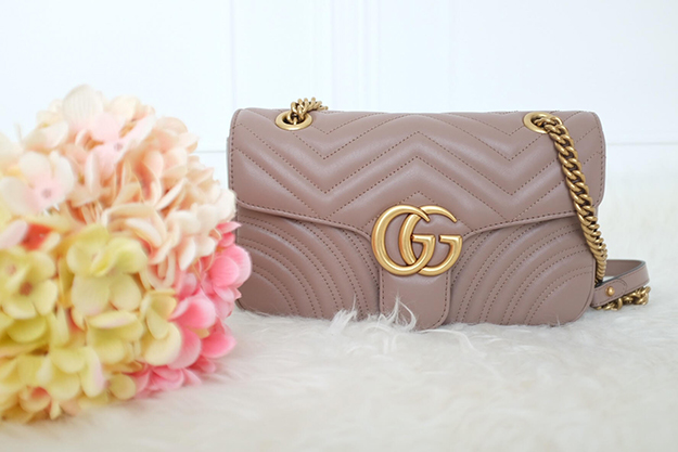 2d860a0ab2dc63 Gucci GG Marmont Matelasse Shoulder Bag in Small Review ~ The ...