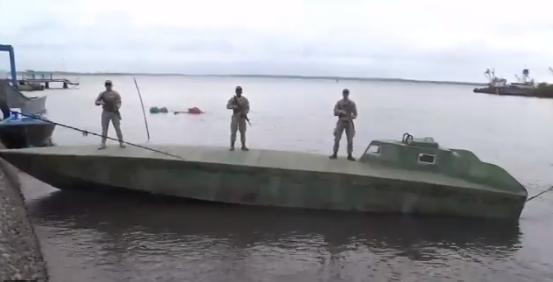 VIDEO; Cae submario cargado del Cártel de Sinaloa estaba repleto droga