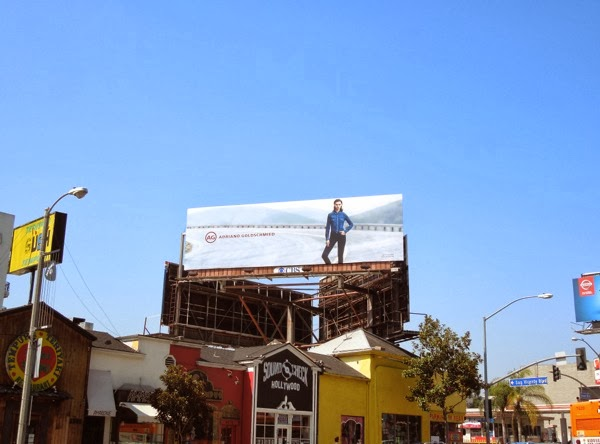 AG Adriano Goldschmeid billboard