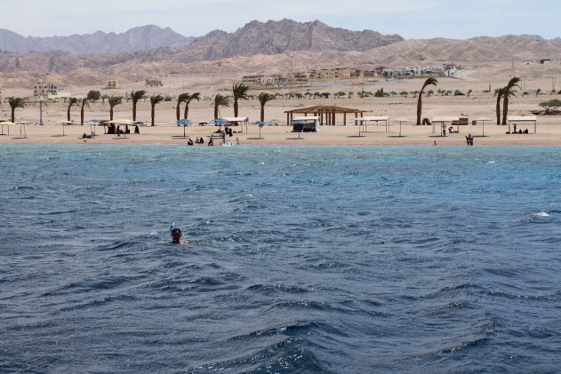 The beach resort of Aqaba, Jordan
