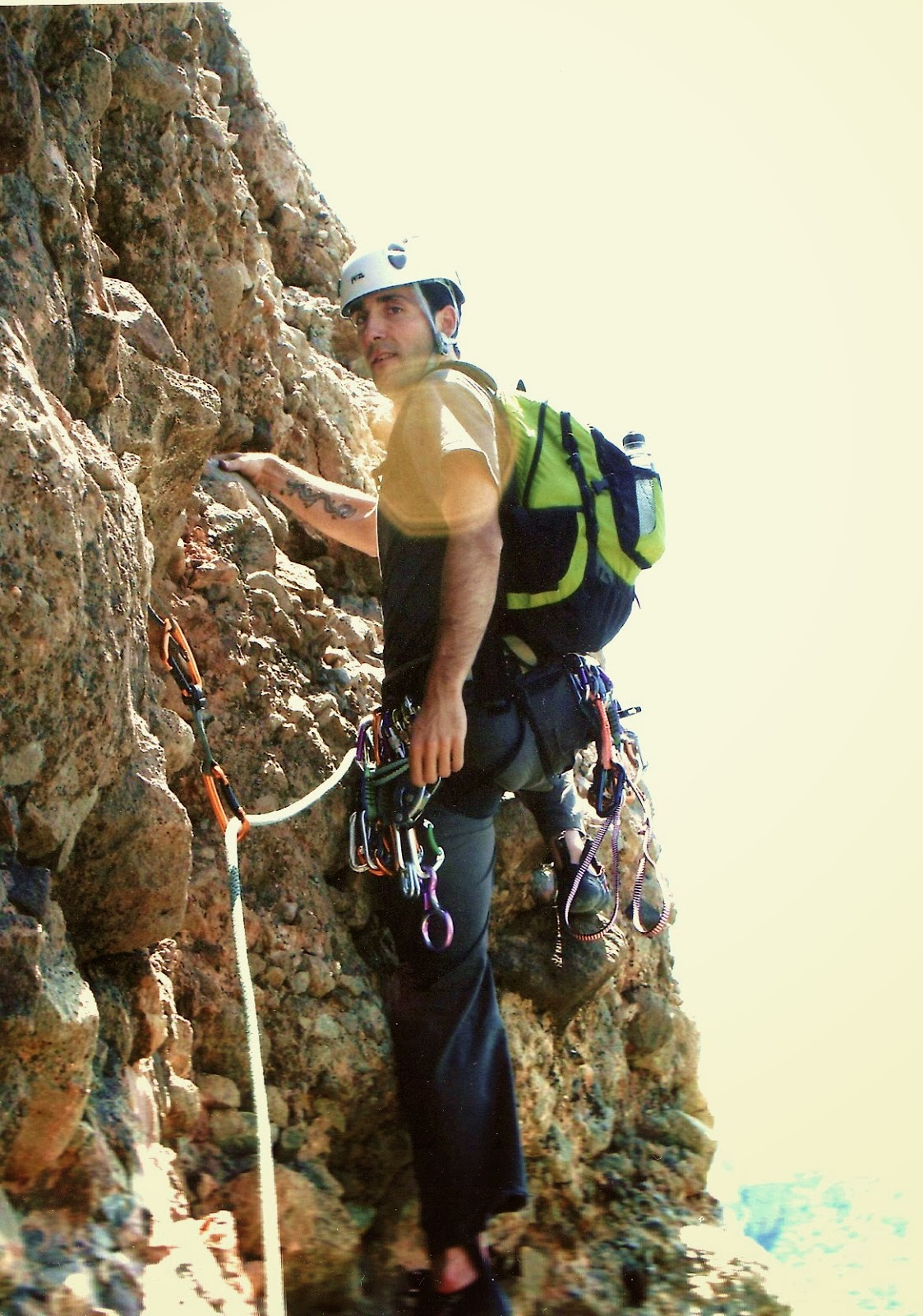 W MALLO CORED RIGLOS (200m, V+) 2013