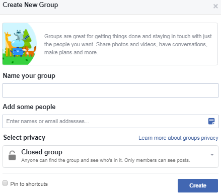 facebook group for business,How to create facebook group