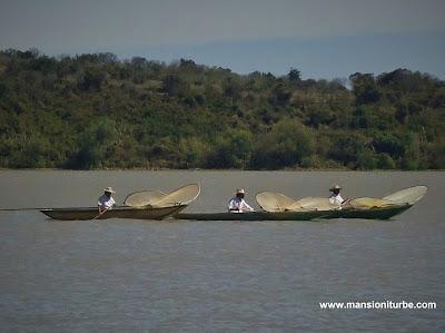 Fishermen at Lake Patzcuaro
