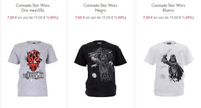 camisetas ninos star wars