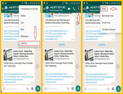 Cara Blokir No Whatsapp Yang Suka Mengirimkan Promosi Jualan Online