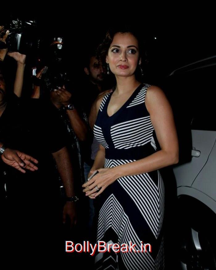 Dia Mirza, Celebs At Deepika Padukone's Piku Grand Success Bash Photo Gallery