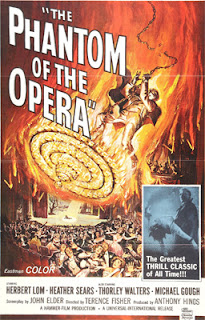 Poster for The Phantom of the Opera (1962)