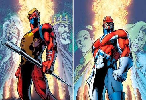Firestar En Spiderman 2 Traje Capitana Marvel Noticomics: - LEYENDAS UNIVERSO MARVEL -: CAPITÁN BRITANIA