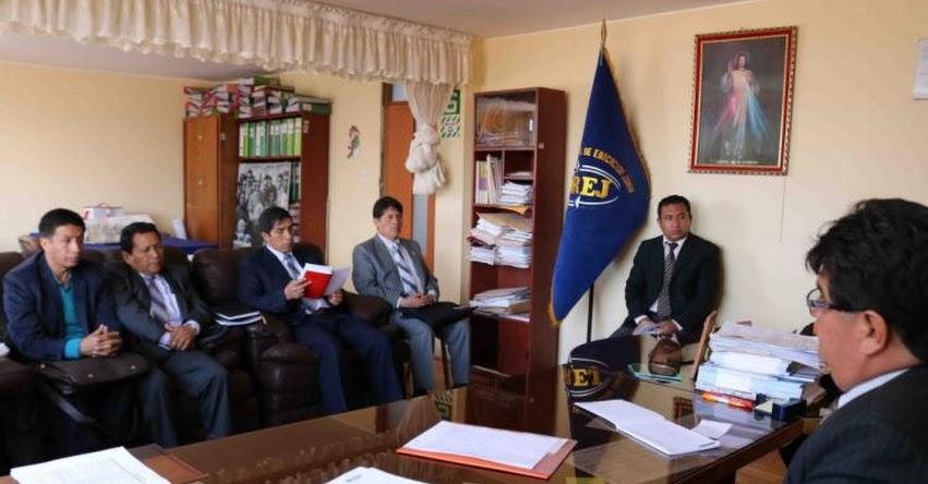 Directores de UGEL acuerdan trabajar articuladamente para mejorar calidad educativa - DRE Junín