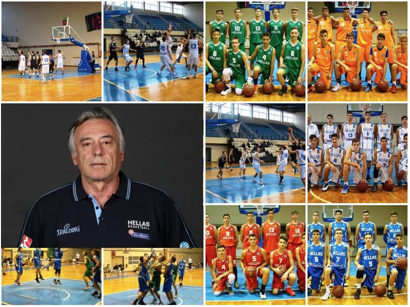 Μίσσας: «Πολλά τα οφέλη από τη διοργάνωση στην Πρέβεζα» ( fb photo album ΕΟΚ | Basketball Camp Cadets)