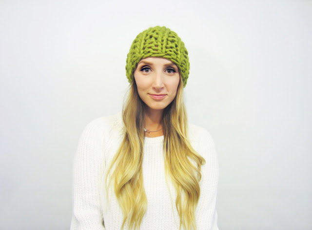 STATEMENT KNIT HAT - 3 VERSIONS .PDF Pattern