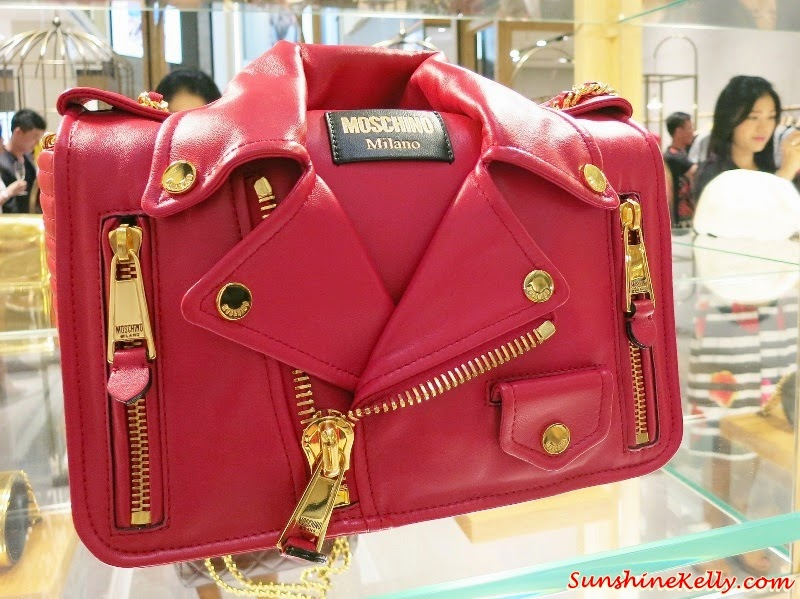 Moschino Jeremy Scott Biker Bag & Fall Winter Collection 14/15 Pavilion KL, Moschino Jeremy Scott Biker Bags, Moschino Fall Winter Collection 2014/15, Moschino Pavilion KL
