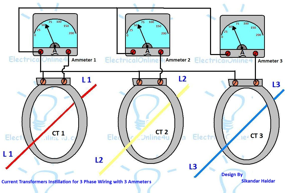 small resolution of current transformer ammeter wiring ct coil wiring diagram