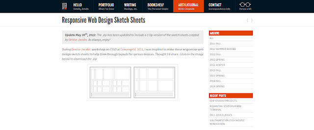 Responsive-webdesign-sketch-sheets
