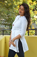 Kiran Chetwani in Denim and White Kurti  Exclusive 022.JPG