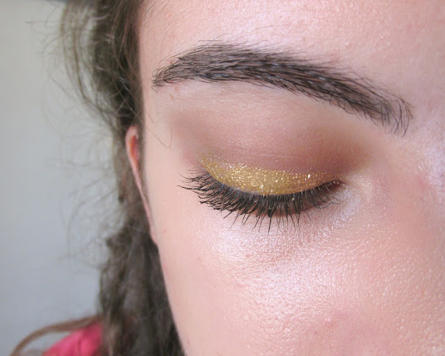 gold lollipop eyeshadow, born pretty store