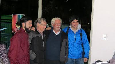 Hector Soto, Horacio Duran y Felipe Sanchez