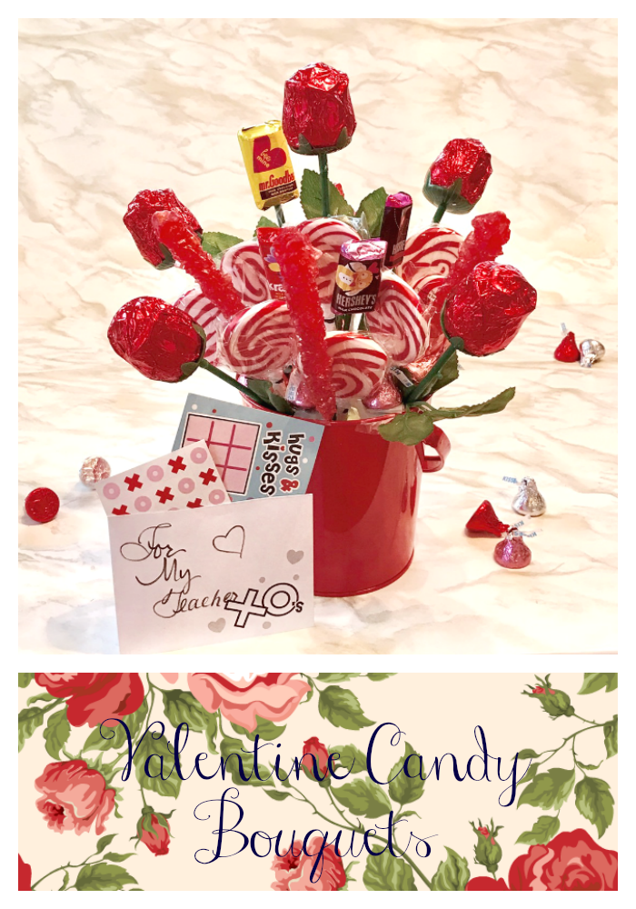 Our Good Life: Valentine Candy Bouquet #OrientalTrading