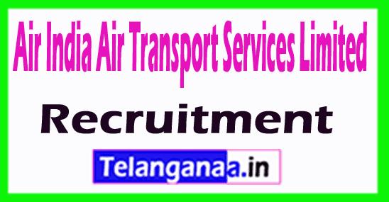 Air India Air Transport Services Limited AIATSL Recruitment