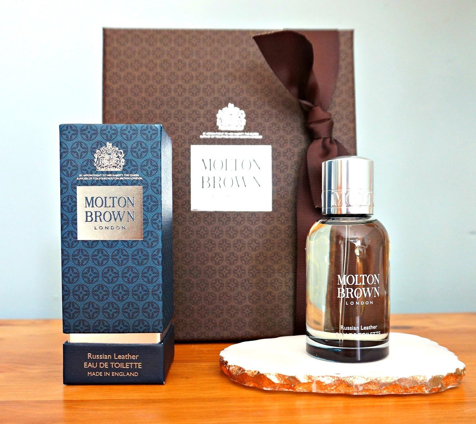 Molton Brown Russian Leather EDT review