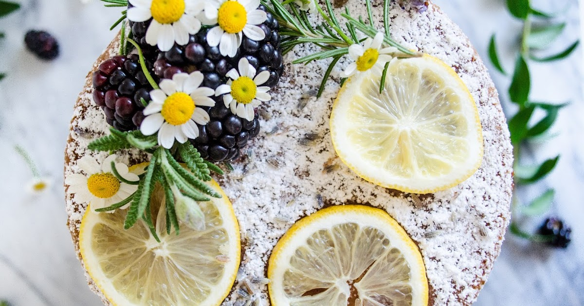 Vegan Lemon Cake No Oil