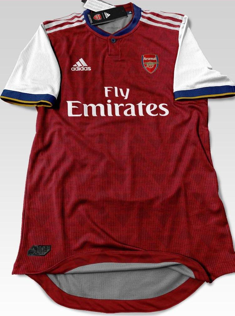 new concept d4dd1 4845b Update: 100% Fake - Adidas Arsenal 19-20 Home Kit Leaked ...