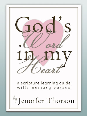 God's Word in My Heart: A Scripture Learning Guide with Memory Verses - Buy It Now!