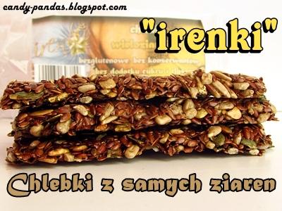Chlebki wieloziarniste - IRENKI