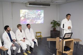 resentación de Zinc Shower 2016. EFE/José Carlos Pedrouzo