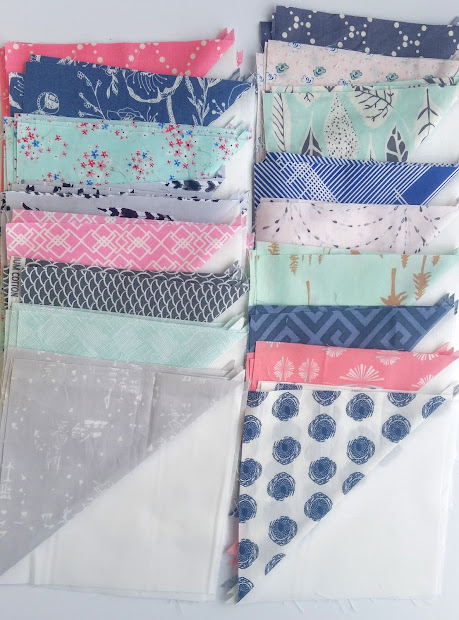Quilt Story Blithe With Fat Quarter And Art