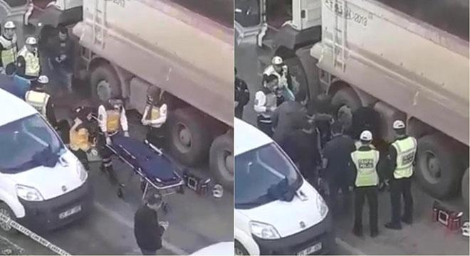 Diyarbakır'da hafriyat kamyonu yayayı ezdi