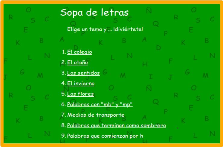 http://www.rinconsolidario.org/palabrasamigas/pa/juegos/sopas/temasopas.htm