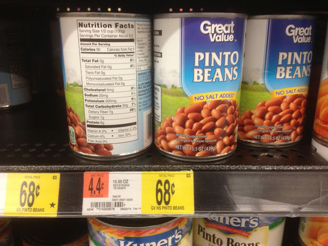 Pinto Beans, Great Value - Walmart