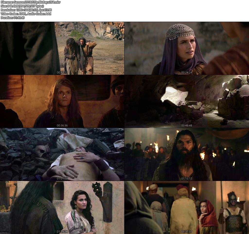 Samson 2018 720p BluRay x264 | 480p 300MB | 100MB HEVC Screenshot