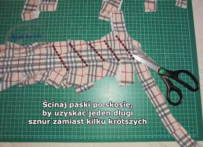jak zrobić włóczkę z ubrań diy